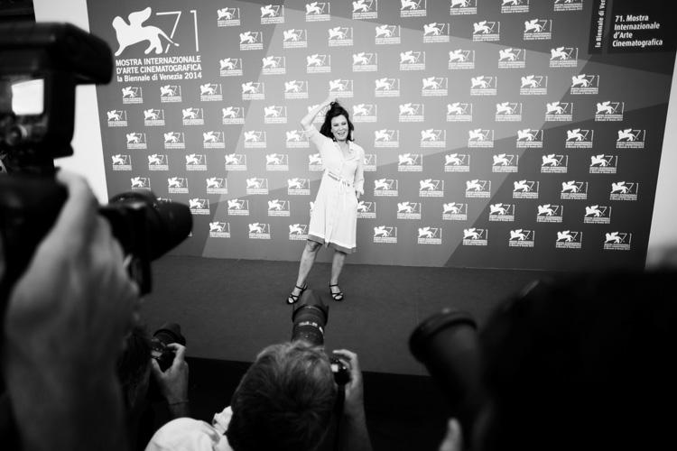 sabina guzzanti durante il photocall - 3 settembre 2014